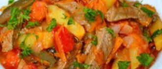 Азу по-татарски с солеными огурцами: вкусное и сытное блюдо 2