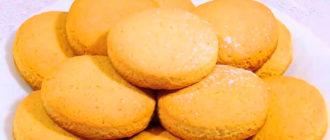 Печенье домашнее «Минутка» на молоке: рецепт, проверенный годами 7