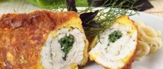 Куриное филе в духовке: вкуснейшие рулетики с начинкой 5