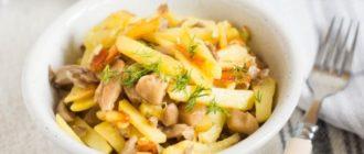 Вешенки с картошкой: универсальное домашнее блюдо для всей семьи 1