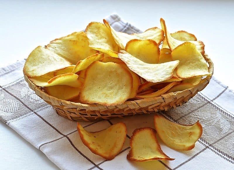 Домашние чипсы из картошки
