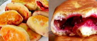 Жареные пирожки с ягодами: бабушкин рецепт со вкусом детства 3