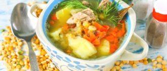 Гороховый суп с говядиной: питательный, горячий обед для всей семьи 3