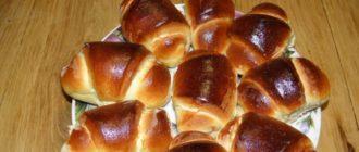 Сладкие булочки из сдобного теста: вкусная выпечка на завтрак 6