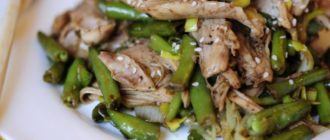 Стручковая фасоль с курицей: нежная курица с фасолью делают это блюдо очень полезным 6