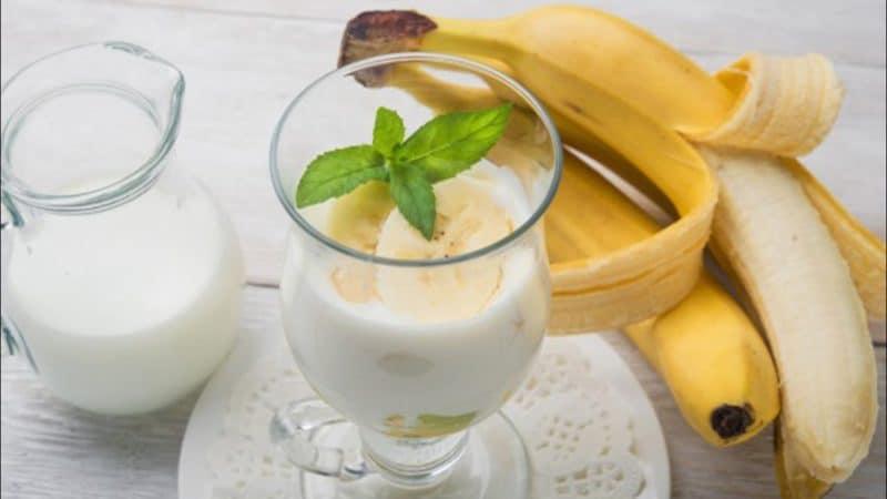 Кефир с бананом: самый простой и полезный напиток из кефира 1