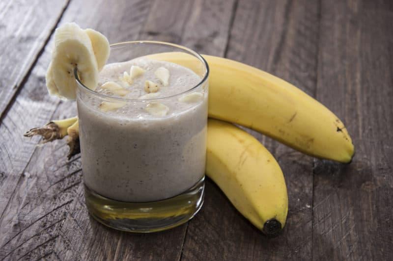 Кефир с бананом