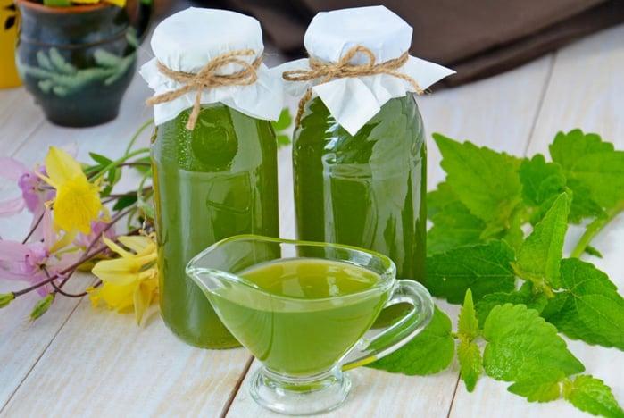 Мятный сироп: прозрачный сироп с обалденным ароматом свежей мяты 1