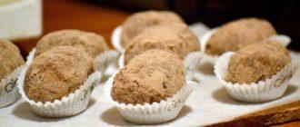 Пирожное картошка из печенья со сгущенкой: роскошное домашнее пирожное своими руками 10