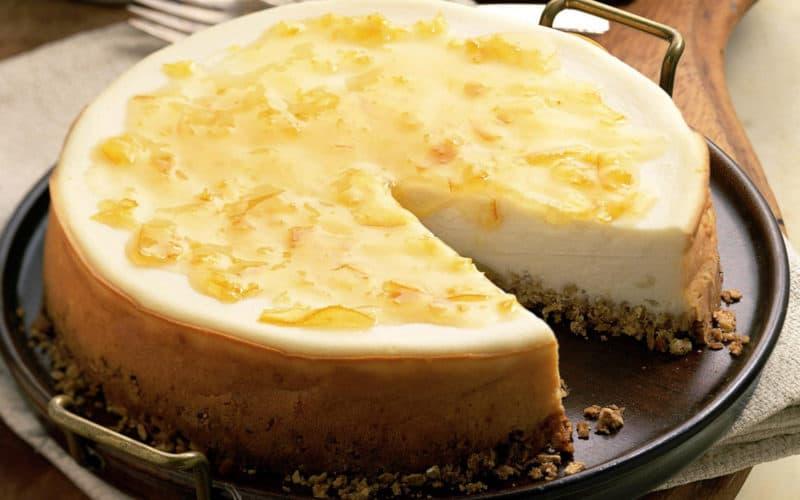 Чизкейк с творожным сыром