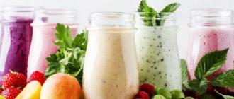 Смузи с фруктами: вкусный, освежающий густой напиток 3