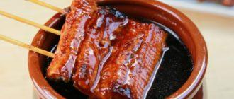 Соус унаги: это соус отлично дополнит поджаренную курочку, рыбу, овощи 4