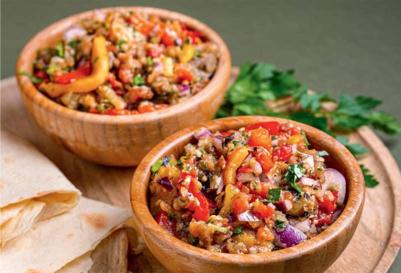 Аджапсандал на мангале: лёгкое овощное блюдо для приготовления на мангале 1