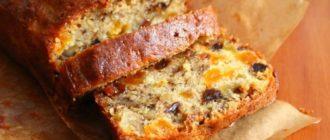 Кекс Мазурка: десерт изобилует орехами и сухофруктами, а сверху его украшают вареньем, кремом или помадкой 3