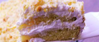 Лимонный торт. Нежность Лимонник, тающая во рту 4