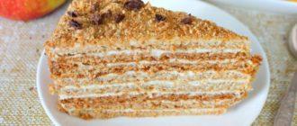 Медовый торт со сливочным кремом: выпечка, которая непременно понравится вашим гостям 5