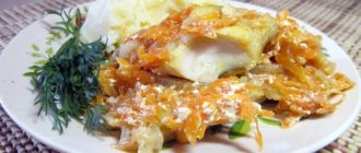 Минтай под сметано-чесночным соусом: отличное блюдо для питания детей 5
