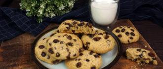 Печенье с изюмом: хрустящее снаружи и мягкое внутри 6