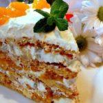 Торт Женский каприз: вкуснейший торт-пирожное из рассыпчатого песочного теста 16