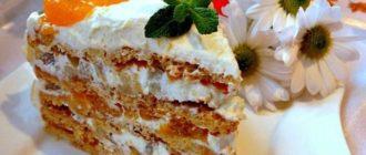 Торт Женский каприз: вкуснейший торт-пирожное из рассыпчатого песочного теста 7