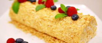 Торт Полено: невероятно нежный и аппетитный тортик 6