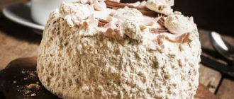 Торт Полёт: хрустящее безе, сливочный крем, пикантные орешки 10