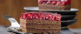 Шоколадный торт с малиной: любители шоколада непременно оценят этот десерт 3