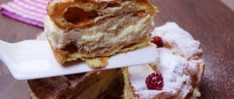 Торт Эклер или Карпатка. Самый удачный рецепт 2