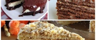 Торты в домашних условиях: 8 вкусных и нежных тортов на праздничный стол 2