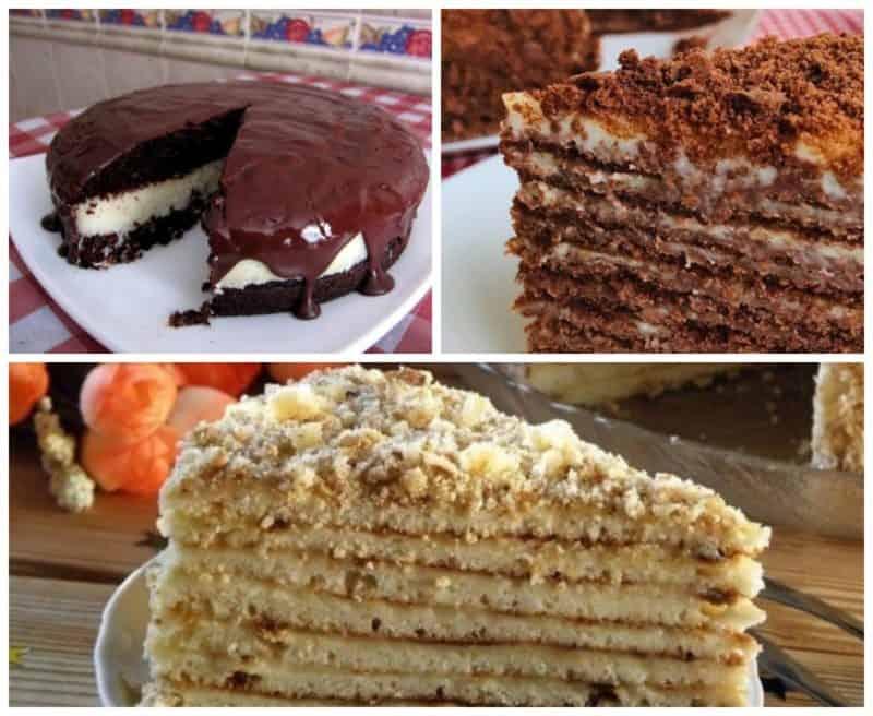 Торты в домашних условиях: 8 вкусных и нежных тортов на праздничный стол 1