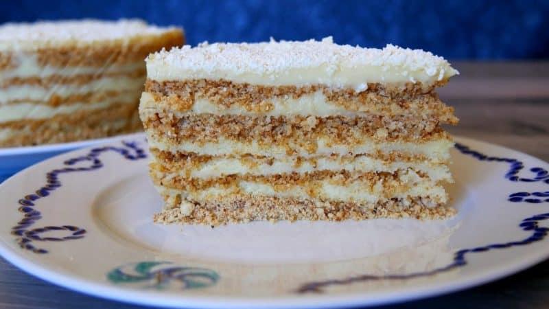 Домашний торт Пломбир. Для всех любителей торта Наполеон и Карпатка 2
