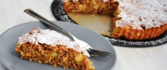 Пирог из яблок и овсянки. Вкусный и полезный пирог 10