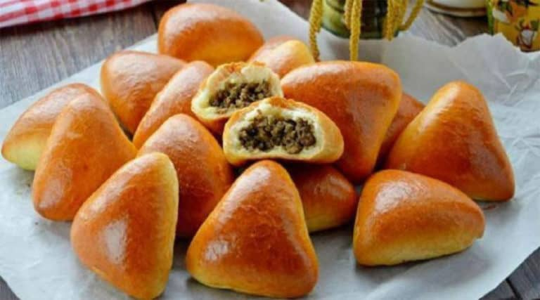Пирожки на кефирном тесте