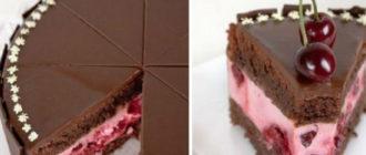 Шоколадный торт с ягодами. Насыщенный шоколадный вкус сведёт с ума сладкоежек 12