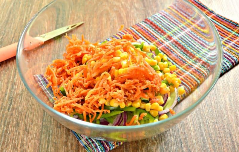 Весенний салат Крокусы. Вкусное и праздничное блюдо 6