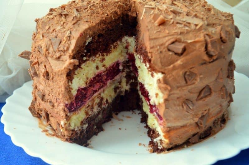 Многослойный торт Мишель. Вкус не чрезмерно сладкий, с небольшой кислинкой 7