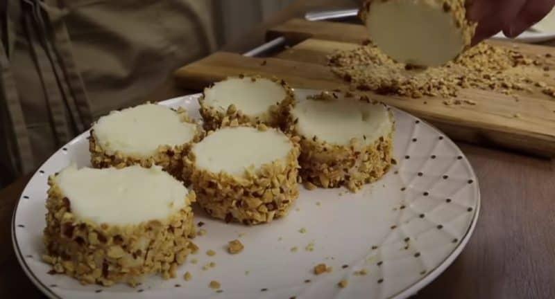 Молочный десерт без выпечки