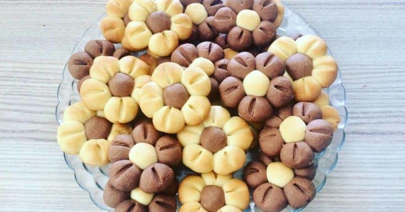 Песочное печенье Цветочки