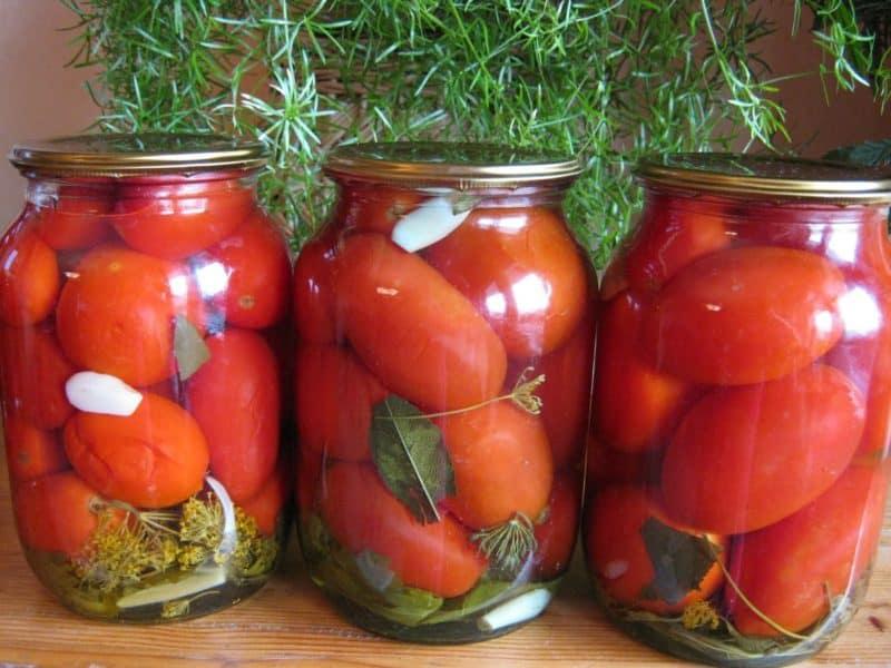 Помидоры По-царски. Очень вкусные и сочные помидорчики 10