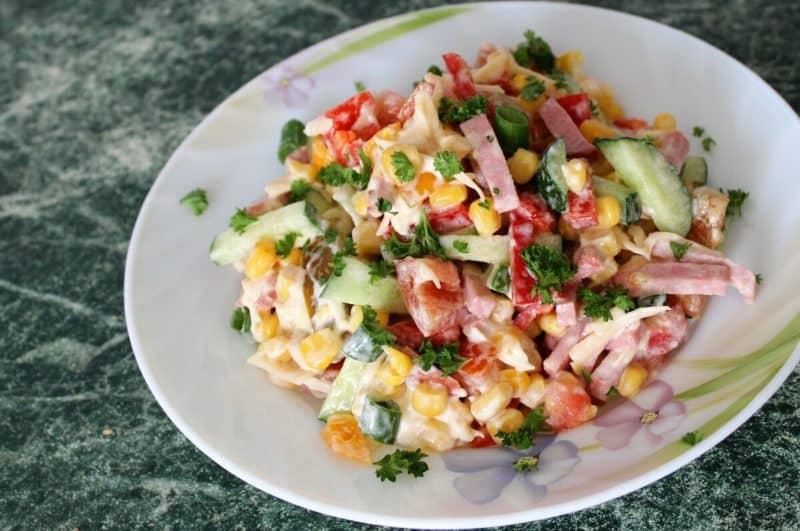 Салат Мексика