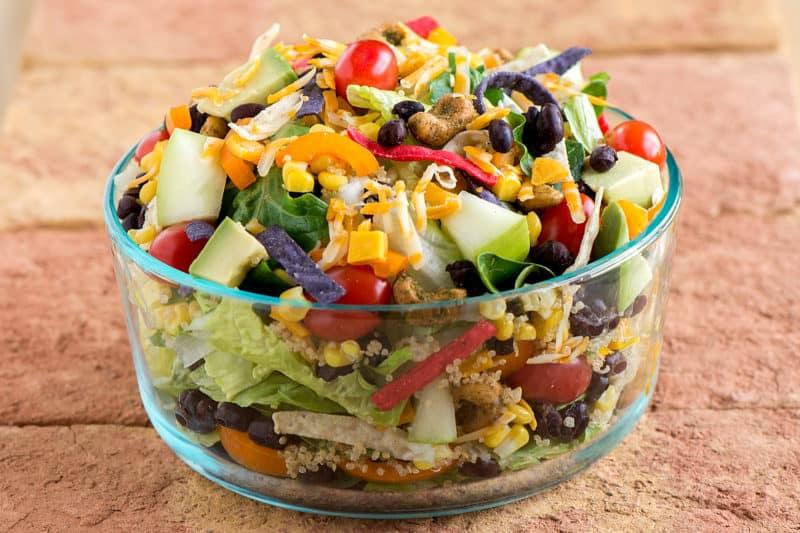 Салат Мексика. Когда я попробовала этот салат в первый раз, то он сразу стал моим любимым 1