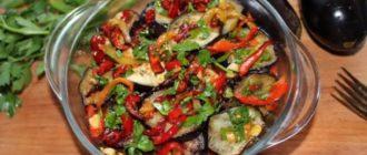 Салат из баклажан с секретиком. Баклажаны приобретают незабываемый вкус 4