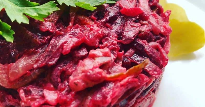 Свекольный салат Агата