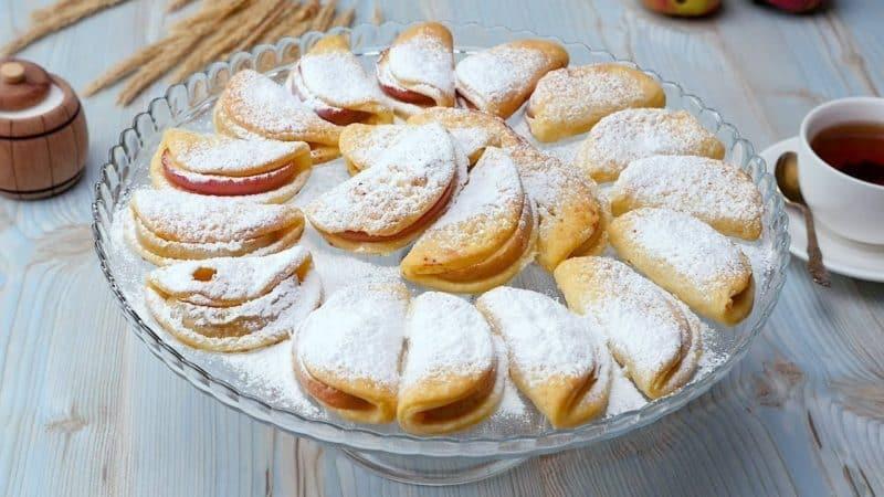 Творожные печенья с яблоками. Лакомство без вреда для фигуры, низкокалорийные печенья на каждый день 8