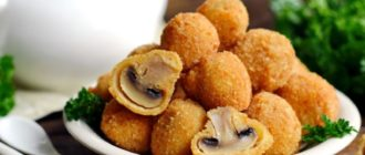 Шампиньоны в кляре. Любимые грибы с хрустящей корочкой 6