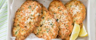 Шницели их куриной грудки с сыром. Обязательно попробуйте это ароматное блюдо! 18