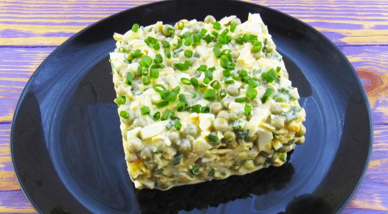 Салат Чайка. Нежный и сытный салат, который наши бабушки и мамы готовили еще с прошлого века 1