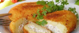 Быстрые картофельные зразы. Съедаются на ура, готовятся - легко! 12