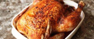 Мочёная курица в духовке. Не нужна ни фольга, ни рукав. Курица получается очень сочной 7