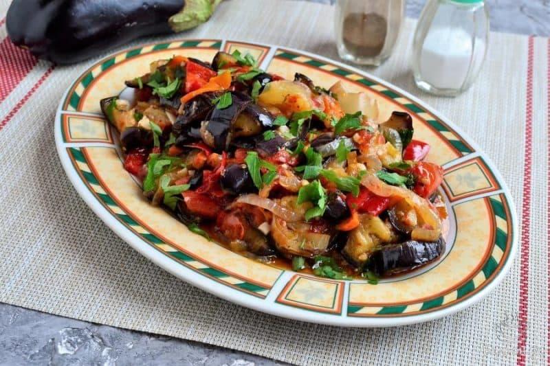 Баклажаны по-кавказски. Овощи получаются невероятно вкусными 1